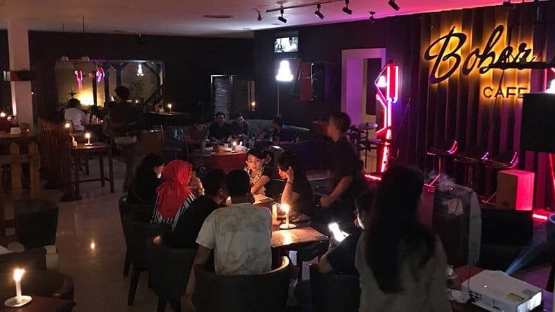 Tempat Ngopi di Bandung - Bober Cafe