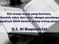 Kata-Kata Bijak Islam tentang Kehidupan - Surah Al Baqarah: 153