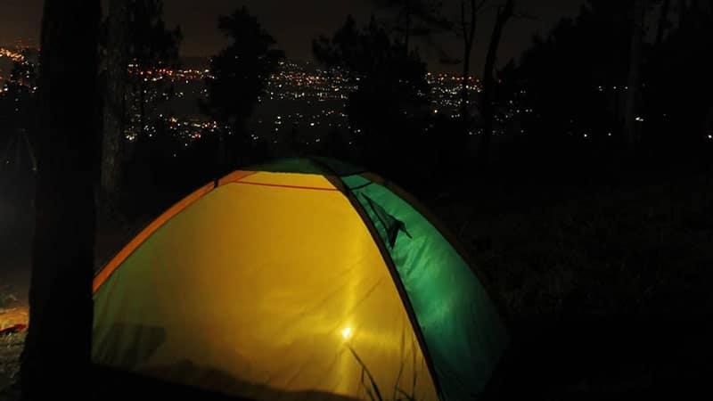 Tempat Wisata Malam di Bandung - Puncak Bintang