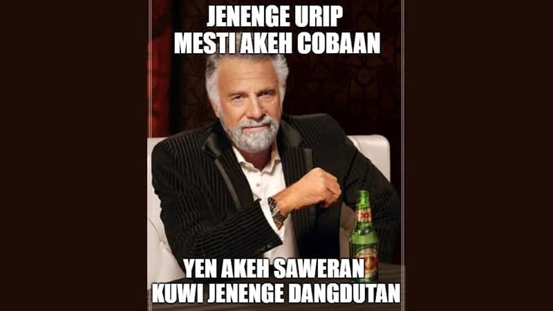 Meme Lucu Bahasa Jawa - Akeh Cobaan