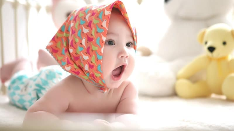 Foto-foto Bayi Lucu - Bayi Perempuan