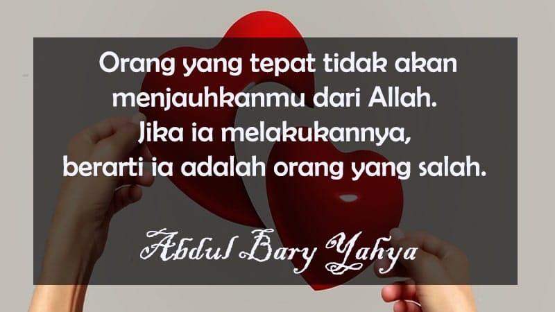 Kata-Kata Cinta Islami yang Menyentuh Hati - Abdul Bary Yahya