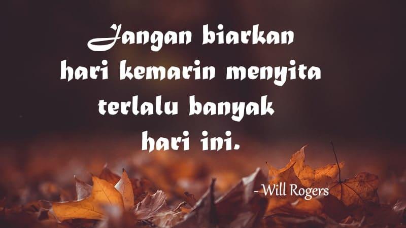 Kata-kata mutiara untuk sahabat - Kutipan Will Rogers