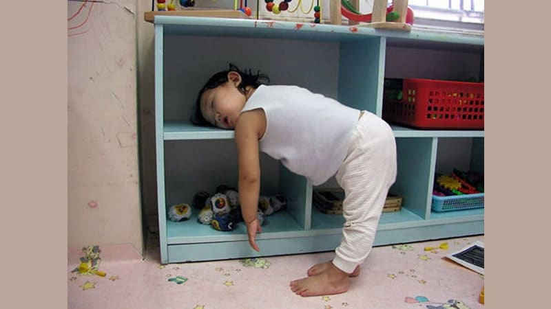 Foto Anak-Anak Lucu - Balita Ketiduran