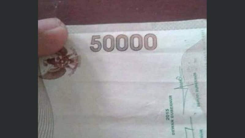 kumpulan gambar lucu - uang 5000