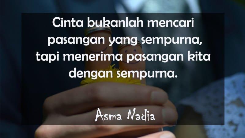 Kata-Kata Cinta Islami yang Menyentuh Hati - Asma Nadia