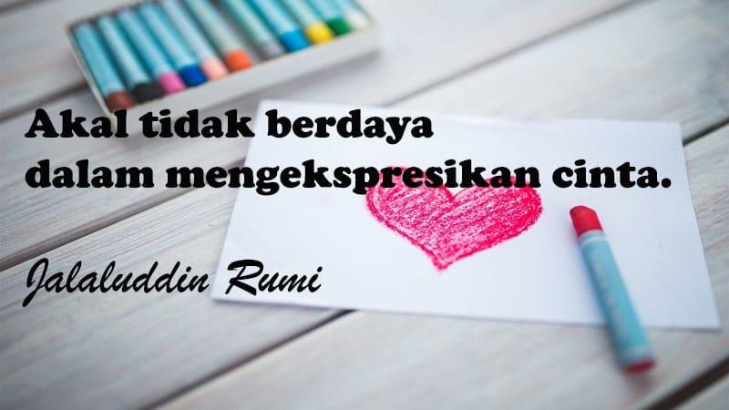 Kata-Kata Cinta Islami yang Menyentuh Hati - Jalaluddin Rumi