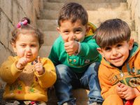 Foto Anak-Anak Lucu - Tiga Bocah