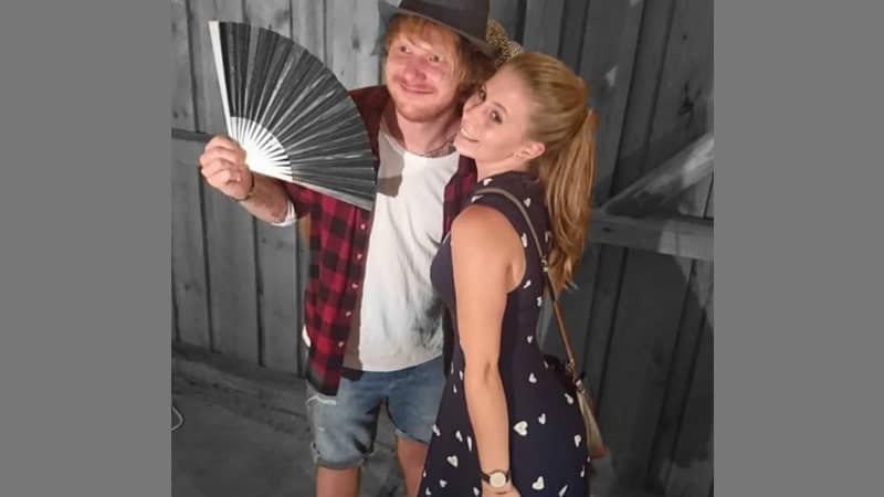 Foto Lucu Artis Hollywood - Ed Sheeran