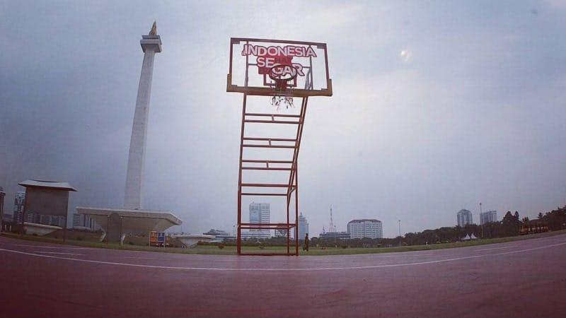 Tempat Wisata Monas Jakarta - Arena Olahraga