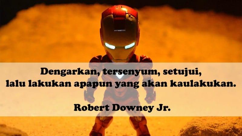 Kata-Kata Motivasi Lucu - Robert Downey Jr.