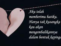 Kata-kata galau cinta - Kutipan patah hati