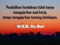 Kata-Kata Motivasi Belajar - W.E.B Du Bois