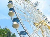 Wisata JungleLand Sentul Bogor - Ferrish Wheel