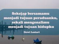 Kata-Kata Motivasi Cinta - Dewi Lestari