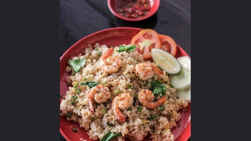 Resep Nasi Goreng - Nasi Goreng Pedas Thailand (Khao Pad Goong)