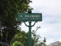 wisata malioboro jogja - jalan malioboro