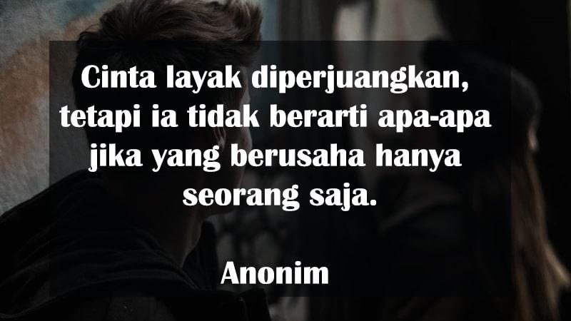 Kata-Kata Putus Cinta Sedih - Anonim