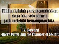 Kata-Kata Indah Novel - J.K. Rowling