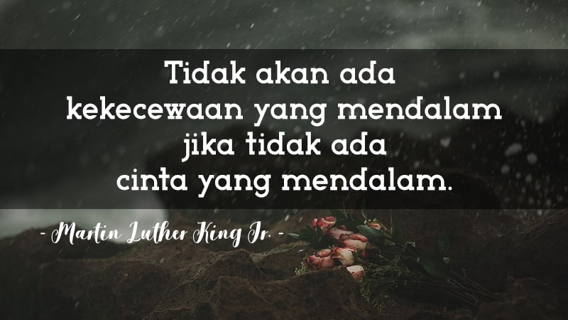 Kata-Kata Sedih Kecewa - Martin Luther King Jr.