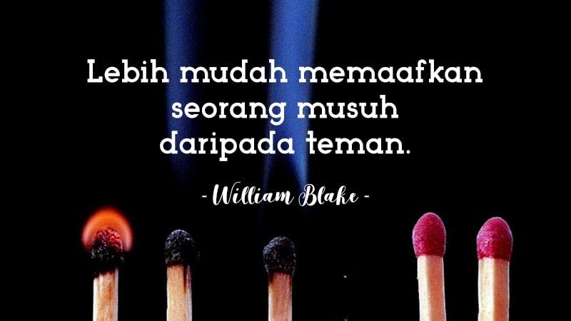 Kata-Kata Sedih Kecewa - William Blake