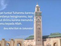 kumpulan motto hidup islami - masjid