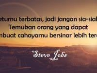 Kata-Kata Semangat Hidup - Steve Jobs