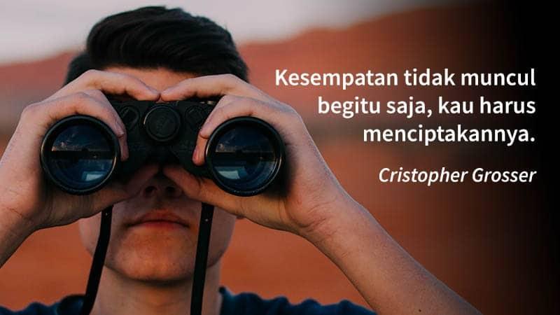 kata kata inspirasi kehidupan - cristopher grosser
