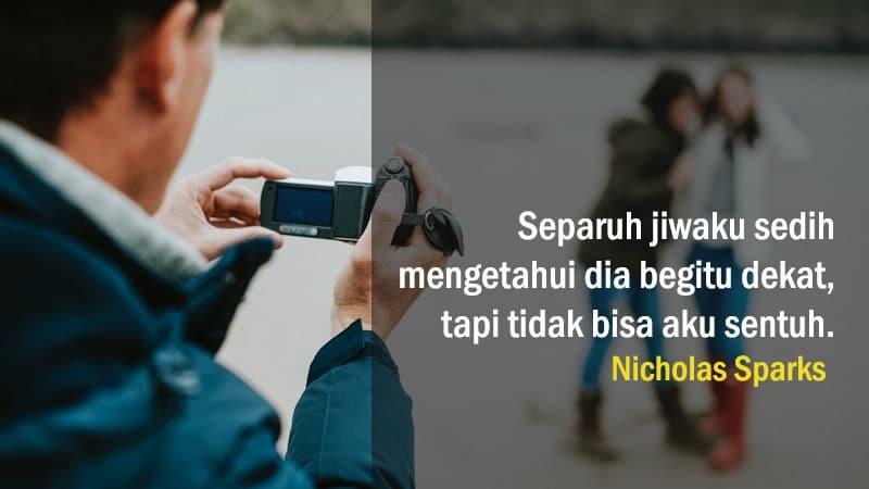 Kata-Kata Penyesalan Cinta - Nicholas Sparks