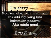 Kata-Kata Minta Maaf buat Pacar - BTOB