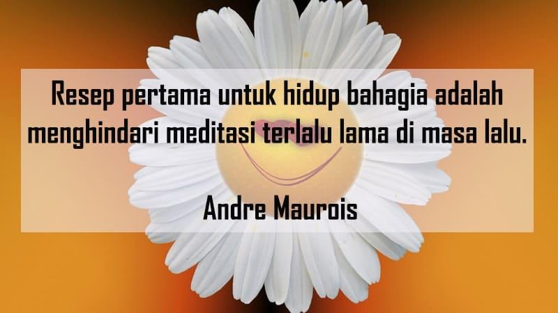 Kumpulan Kata-Kata Bahagia - Andre Maurois