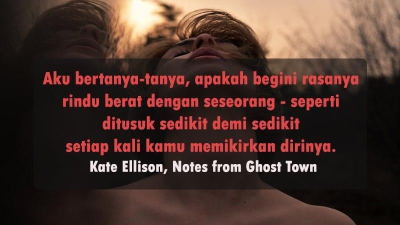 Kata-Kata Kangen buat Mantan - Kate Ellison