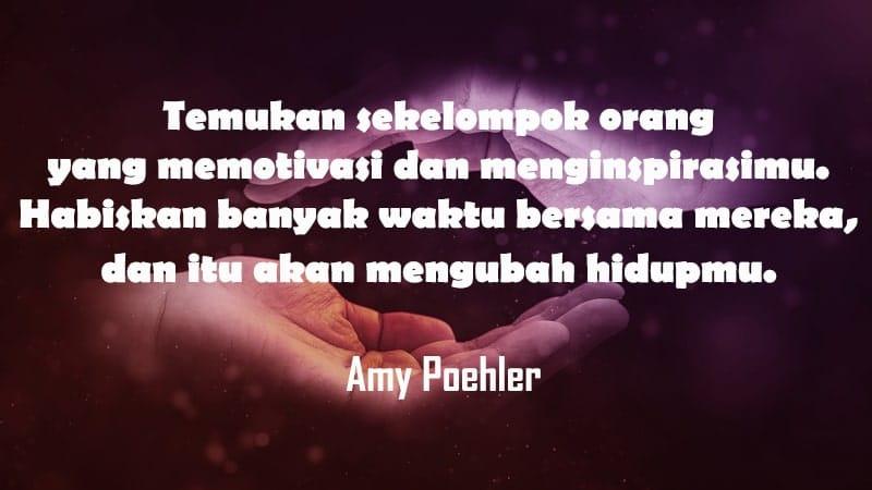 Kata-Kata Persahabatan Sejati - Amy Poehler