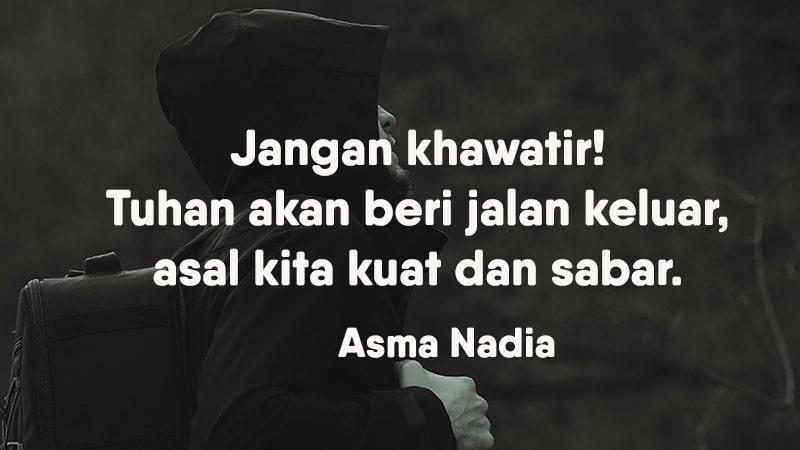 Kata-Kata Sabar dan Ikhlas - Asma Nadia