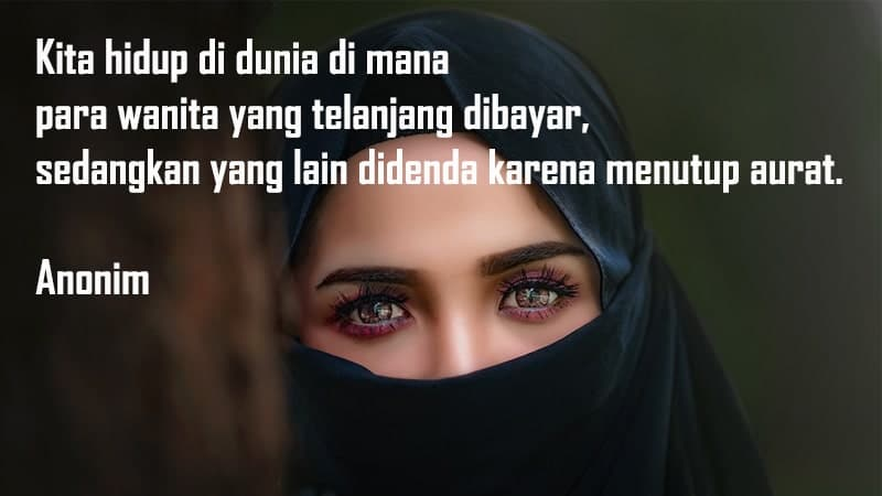 Kata Bijak Motivasi Wanita Muslimah