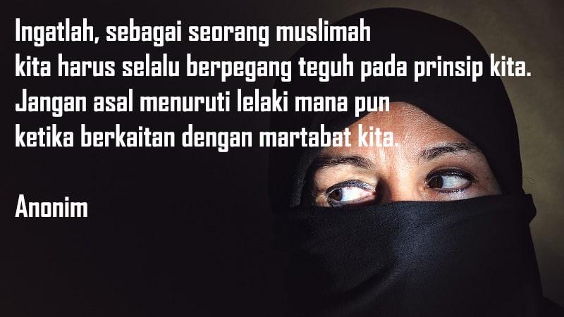 Kata-Kata Wanita Muslimah - Kutipan yang Menyentuh Hati
