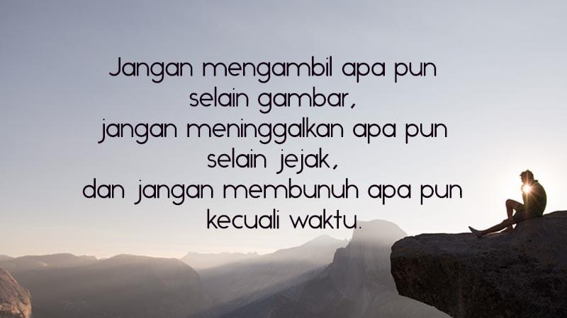 Kata Mutiara Cinta Alam Indonesia