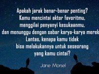 Kata-Kata Bijak LDR - Jane Morsel