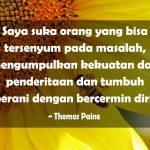 Kata-Kata Bahagia tapi Sedih - Thomas Paine