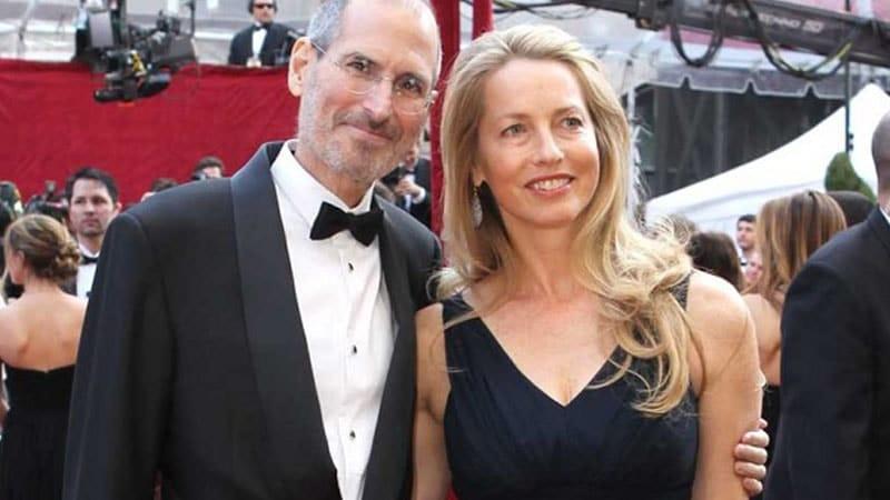 Biografi Steve Jobs - Steve Jobs dan Istri