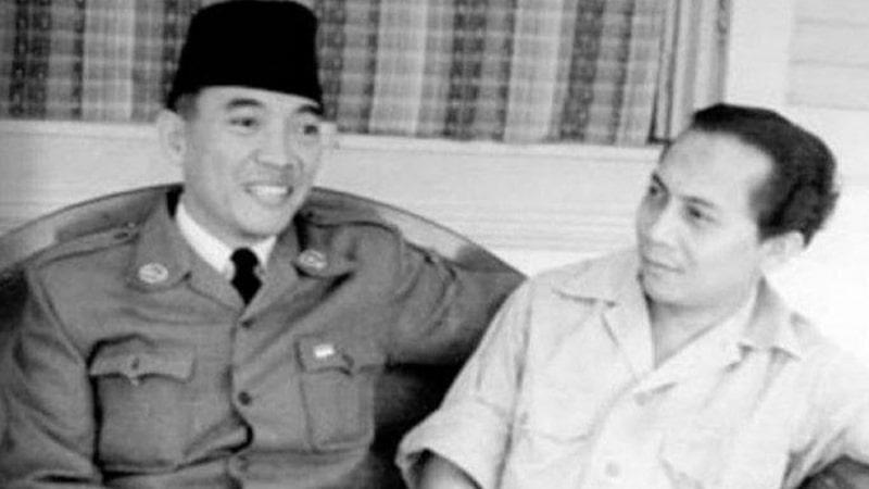 Biografi Sutan Syahrir - Bersama Presiden Soekarno