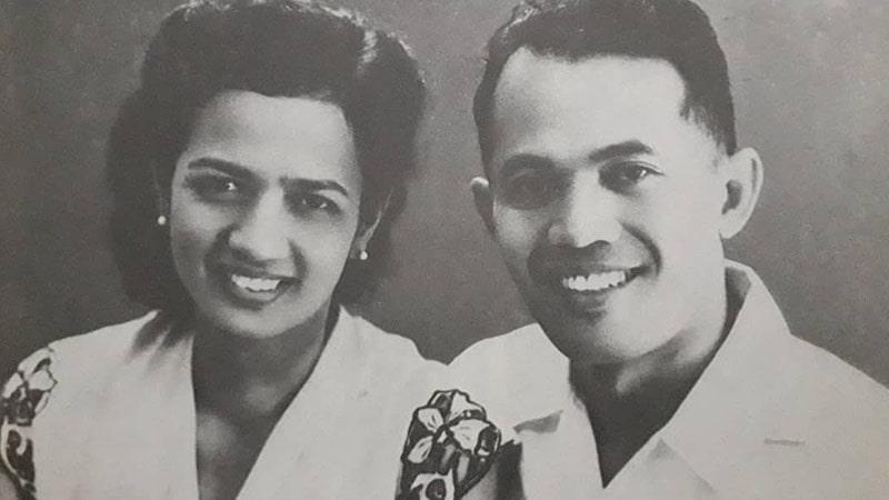 Biografi Abdul Haris Nasution - AH Nasution dan Istri