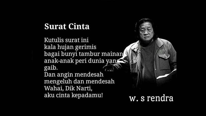 Puisi Cinta WS Rendra