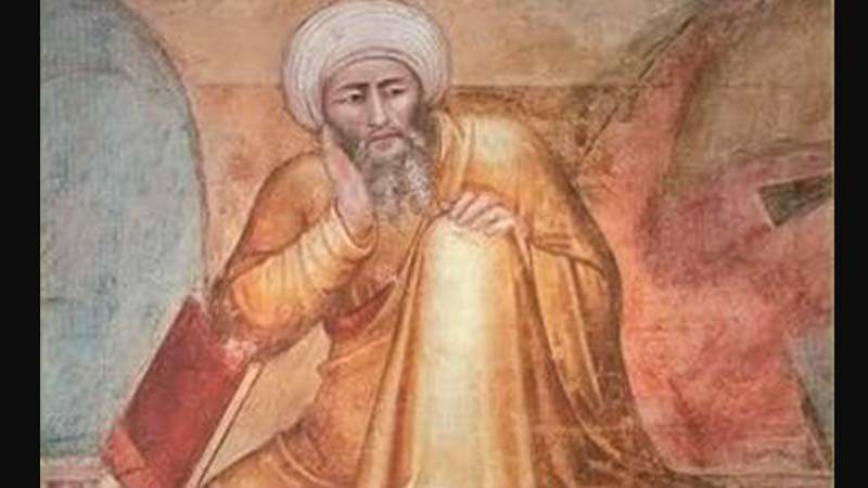 Biografi Ibnu Rusyd - Lukisan Averroes