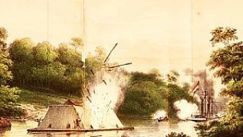 Biografi Pangeran Antasari - Perang Banjar di Sungai Barito