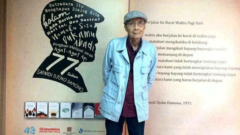 Biografi Sapardi Djoko Damono - Sapardi dan Karyanya