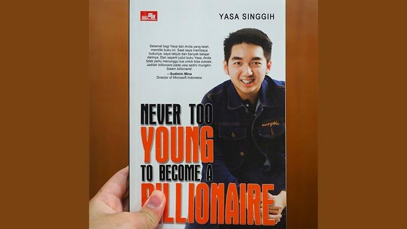 Buku Never Too Young To Become Millionaire