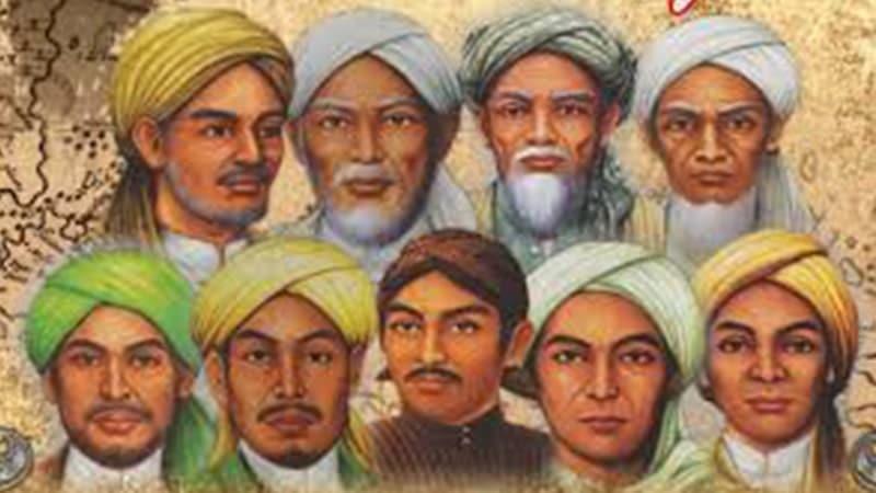 Biografi Sunan Ampel - Ilustrasi Wali Songo