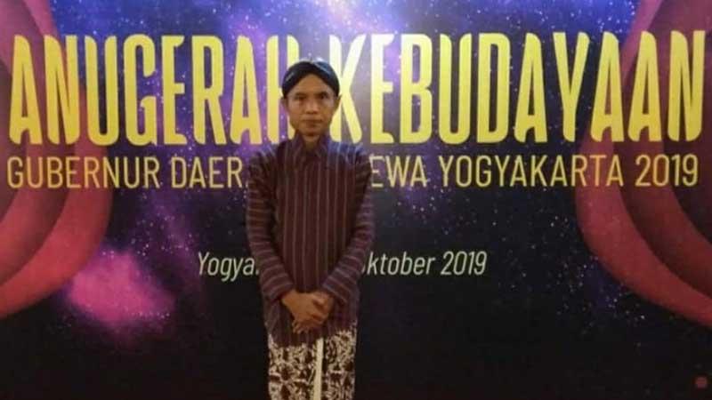 Biografi Joko Pinurbo - Mendapatkan Penghargaan dari Sultan Jogja