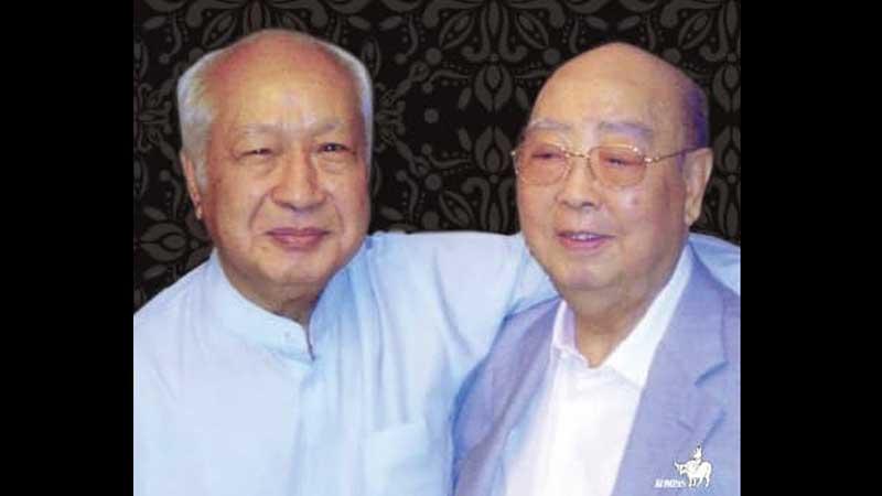 Biografi Sudono Salim - Soedono dan Soeharto